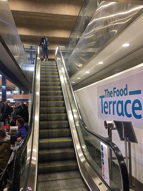 London Euston Escalators