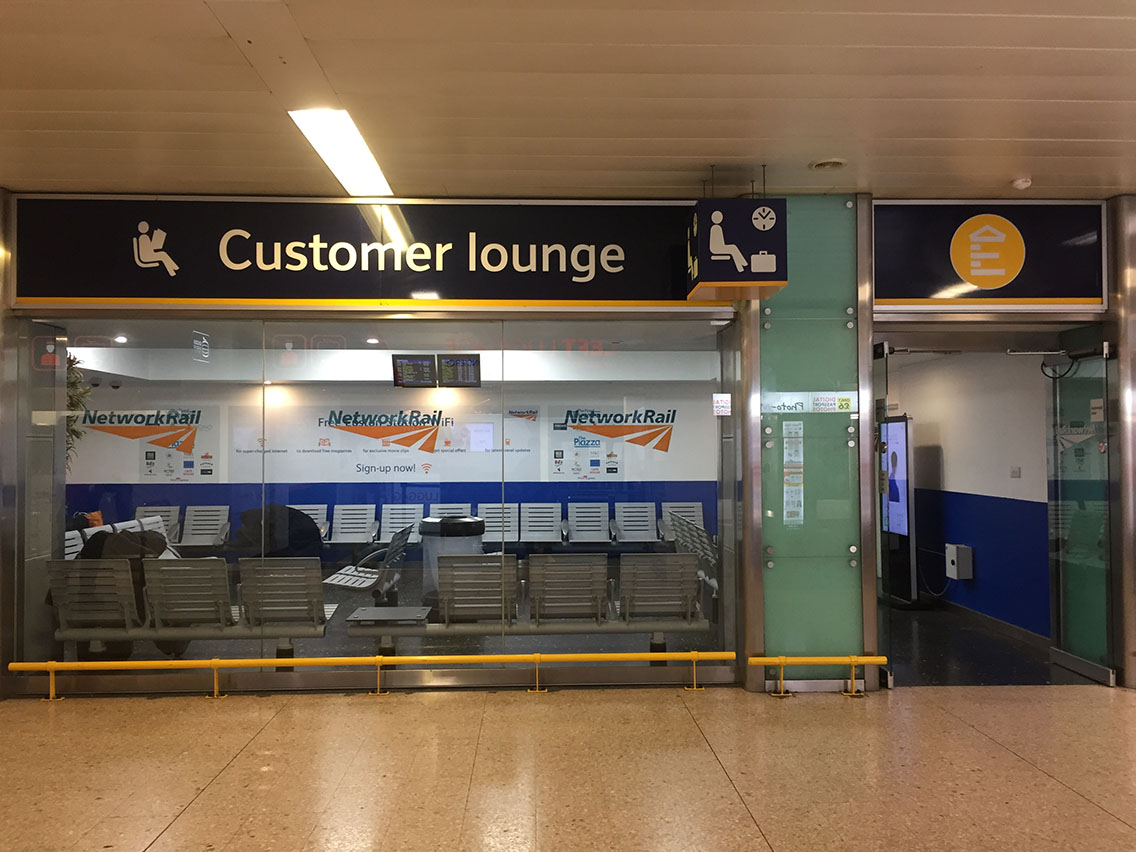 Euston Customer Lounge