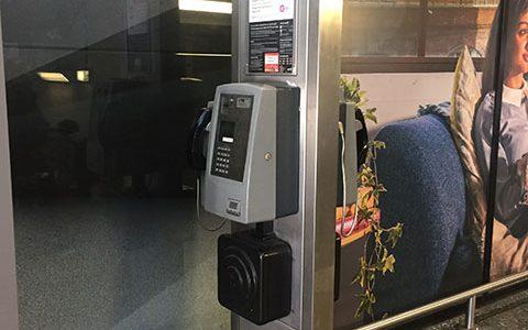 London Euston Payphones