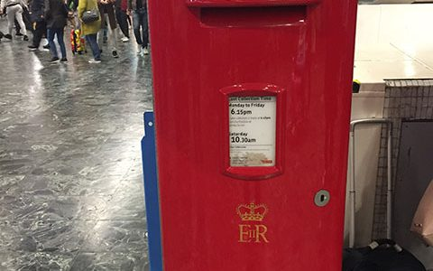 Euston Station Royal Mail Postbox